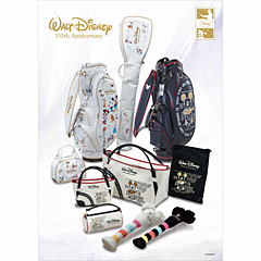 Walt Disney 110th Anniversary 限定ゴルフグッズ
